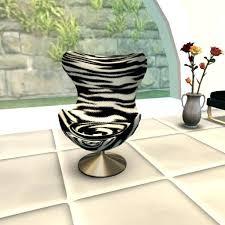 Zebra Chair And Ottoman Zebra Print Chair And Ottoman Zebra Chair And Ottoman Zebra Print