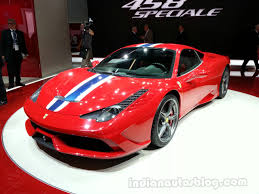Ferrari 458 Turbo - frankfurt live u2013 ferrari 458 speciale update presented in