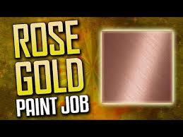 how to make rose gold camo u201crose gold camo u201d paintjob tutorial