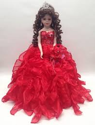 quinceanera dolls 20 in 15 xv anos quinceanera ruffle dress porcelain umbrella