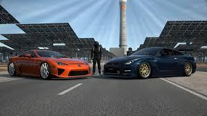 lfa lexus black gran turismo 6 lexus lfa nurburgring package vs nissan gt r