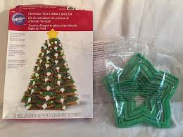 Christmas Cookie Decorating Kit Wilton Cookie Decorating Kit Christmas Tree 1 Ct 2104 1555 Ebay