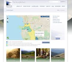 Big Sur Map Greeninfo Network Information And Mapping In The Public Interest