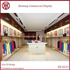 Shop Decoration | hot sale fashion design garment shop decoration design buy