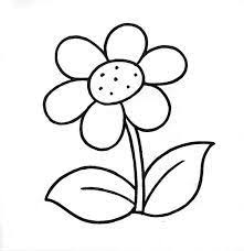 25 dibujos flores colorear ideas