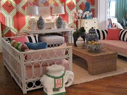 Lilly Pulitzer Home by Dwellers Without Decorators High Point Market 2012 Name That Booth