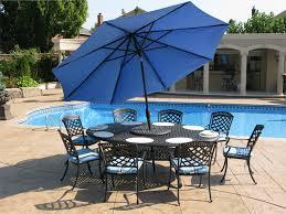 Patio Umbrellas Big Lots by Big Lots Patio Furniture On Patio Sets With Amazing Blue Patio