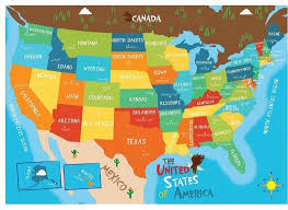 geography map usa map print for usa state capitals geography map