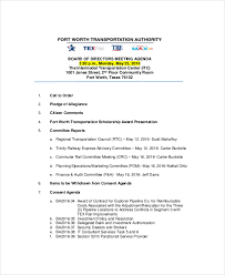 strategy meeting agenda template u2013 10 free word pdf documents