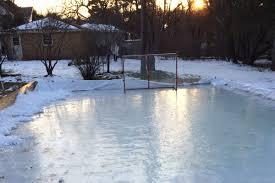 The Backyard This Is The End U2026 Of The Backyard Rink Hockey Wilderness