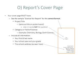 science fair report template science fair project report template scientific report contact us