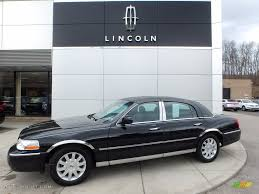 lincoln town car 2017 2009 black lincoln town car signature limited 111567481