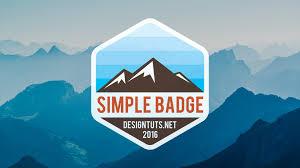 adobe illustrator tutorial how to design simple badge emblem