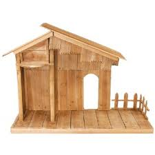 Outdoor Lighted Nativity Sets For Sale Wood Nativity Stable Nativity Stable Indoor Stable Nativity