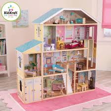 Dollhouse Decorating by Decorating Chic Kidkraft Dollhouse Made Of Wood With Four Tier