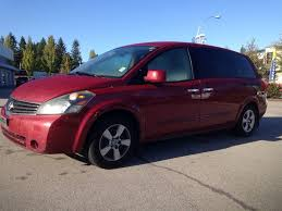 nissan minivan used 2007 nissan quest for sale surrey bc