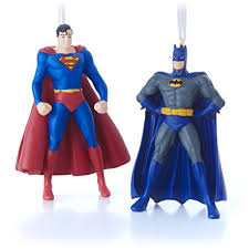 hallmark dc comics superman and batman