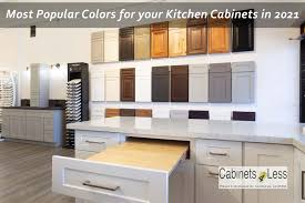 kitchen cabinet colors 2021 most popular colors for your kitchen cabinets in 2021