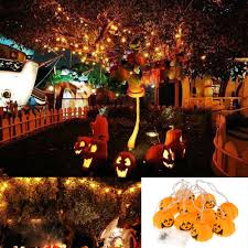 halloween icicle lights halloween 2 5m 8 2ft 10 leds pumpkin string light sales online