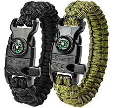 paracord survival whistle bracelet images A2s protection paracord bracelet k2 peak survival gear kit with jpg