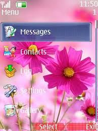 nokia 206 cute themes free download cute flowers dew for nokia asha 206 app