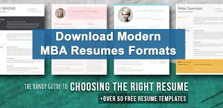 Mba Resume Templates Mba Resume Format For Freshers Download Sample Mba Resume Templates