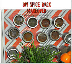 Diy Magnetic Spice Rack Clean Up Your Kitchen And Create A Diy Magnet Spice Corner And