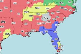 Tampa Bay Map Jaguars Vs Buccaneers Tv Viewing Map For Week 5 On Cbs Big Cat