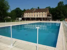 piscine en verre barrière de piscine en aluminium et protection aluminium de piscine