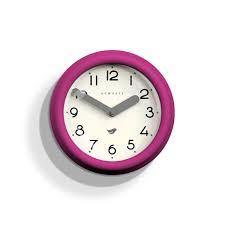 small colourful kitchen clock pink newgate clocks pantry