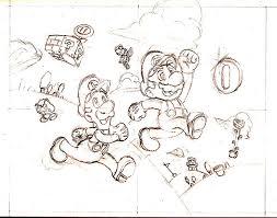 phillip u0027s blog super mario bros sketch