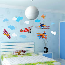 four air planes multicolor wall sticker home vinyl decal kids room four air planes multicolor wall sticker home vinyl