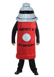 fire hydrant costume funny fire fighter costume ideas