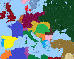 Europe Map 1914 Europe 1914 4648 X 3692 Mapporn