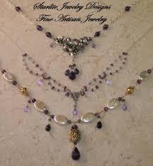 handmade designer jewellery starlite jewelry designs briolettte necklace handmade flickr