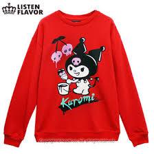 listen f rakuten global market kuromi sweatshirt my melody x