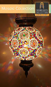 Mosaic Pendant Lighting by Mosaic Lamps Ottoman Lamps Turkish Lighting Manufacturer