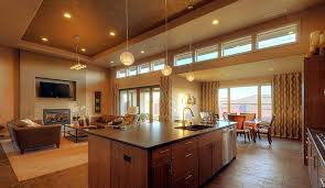 kitchen and family room ideas the title of this photograph is open plan kitchen family room