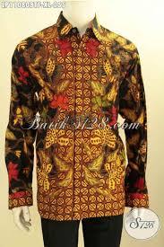desain baju batik untuk acara resmi jual baju batik hem lengan panjang untuk kerja rapat dan acara resmi