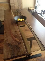 Live Edge Bar Table Captivating Live Edge Bar Table With Natural Live Edge Dining Bar