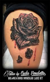 bleeding rose tattoos google search tattoos pinterest