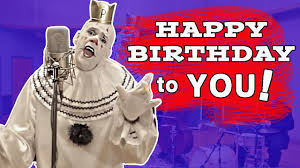 clowns for birthday happy birthday song puddles sad clown style