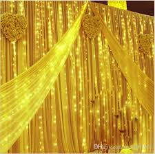 cheap factory direct sale 4mx5m curtain style led lights 640 leds