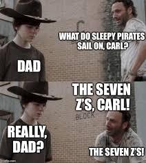 Walking Dead Meme Carl - rick and carl memes imgflip