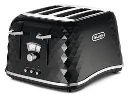 Blue 4 Slice Toaster Brillante Black 4 Slice Toaster Kitchen Delonghi