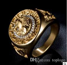 cool fashion rings images Jewelry fashion rings for men cool lion eagle star gold color ring jpg