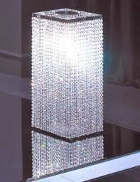 Crystal Desk Lamp by Swarovski Crystal Table Lamp Foter