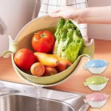 fruit and vegetable baskets layer fruit drain vegetable basket plastic drain