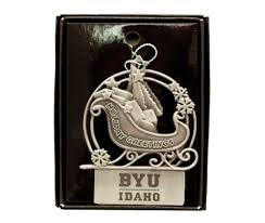 Locket Ornament Byu Idaho University Store Christmas Ornaments