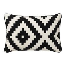 black patterned cushions lappljung ruta cushion cover ikea